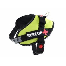 Pasja oprsnica Rescue S 45 - 55 cm, zelena