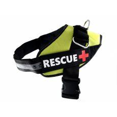 Pasja oprsnica Rescue XXL 80 - 110 cm, zelena