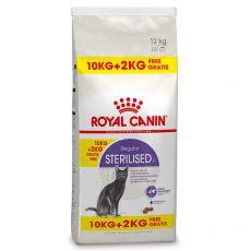 Royal Canin STERILISED 10 kg + 2 kg BREZPLAČNO