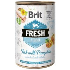 Konzerva Brit Fresh Fish with Pumpkin 400 g