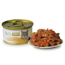 Konzerva Brit Care Cat Tuna, Carrot & Pea 80 g