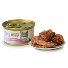 Konzerva Brit Care Cat Tuna & Salmon 80 g