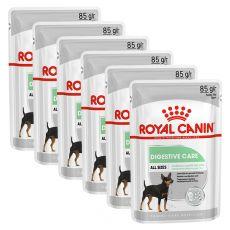 Royal Canin Digestive Care Dog Loaf vrečka s pašteto za pse z občutljivo prebavo 6 x 85 g, 5+1 GRATIS