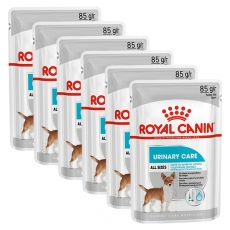 Royal Canin Dermacomfort Dog Loaf vrečka s pašteto za pse s težavami z ledvicami 6 x 85 g, 5+1 GRATIS