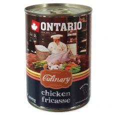 Konzerva ONTARIO Culinary Chicken Fricasse 400 g