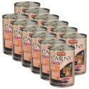 Mokra hrana CARNY KITTEN govedina, teletina in piščanec 12 x 400 g