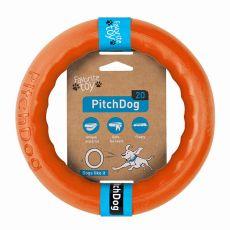 Pasja igrača Pitch Dog 20 cm, oranžna