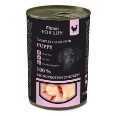 Konzerva Fitmin For Life PUPPY Chicken 400 g