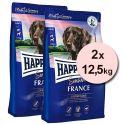 Happy Dog Supreme Sensible France 2 x 12,5 kg