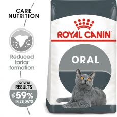 ROYAL CANIN Oral Care mačji briketi za odpravljanje zobnega kamna 8 kg