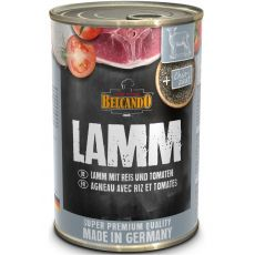 BELCANDO Jagnjetina z rižem in paradižnikom - konzerva 400g