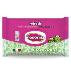 Robčki Inodorina Chlorhexidine 40 kosov