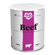 Konzerva MARTY Essential Beef 800 g