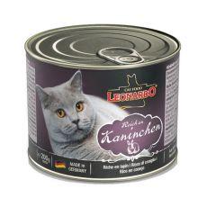 Mokra hrana za mačke Leonardo - zajec 200 g