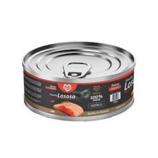 Mačja konzerva MARTY Deluxe Bits of Salmon 100 g