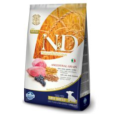 Farmina N&D dog LG PUPPY MINI Lamb & Blueberry 2,5 kg