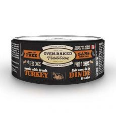 Konzerva Oven-Baked Tradition Pate TURKEY dog 156 g