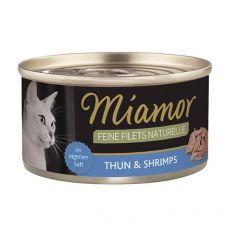 Konzerva Miamor Feine Filets tuna in rakci v omaki 80 g
