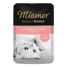 MIAMOR Ragout Royal tuna in piščanec v omaki 100 g