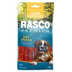 Priboljšek Rasco Premium Slim Sausages 7 kosi, 60 g