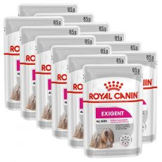 Royal Canin Exigent Dog Loaf vrečka s pašteto za izbirčne pse majhnih pasem 12 x 85 g