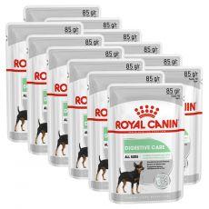 Royal Canin Digestive Care Dog Loaf vrečka s pašteto za pse z občutljivo prebavo 12 x 85 g
