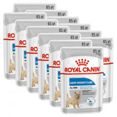 Royal Canin Light Weight Care Dog Loaf dietna vrečka s pašteto za pse 12 x 85 g