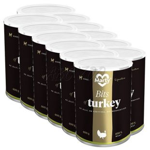Konzerva MARTY Signature Bits of Turkey 12 x 400 g