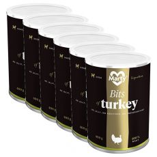 Konzerva MARTY Signature Bits of Turkey 6 x 400 g