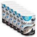 Mačja konzerva MARTY Premium Fish 6 x 400 g