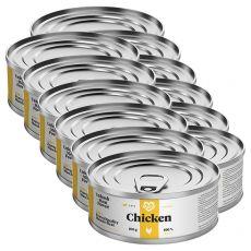 Mačja konzerva MARTY Essential Chicken 12 x 100 g