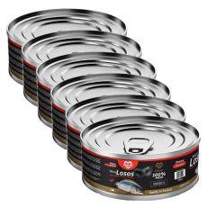 Mačja konzerva MARTY Deluxe Minced Salmon 6 x 100 g