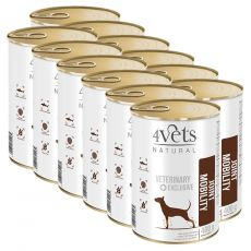 4Vets Natural Veterinary Exclusive JOINT MOBILITY 12 x 400 g