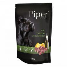 Vrečka Piper Adult divjačina in buča 500 g