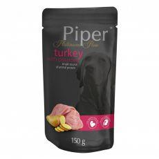 Vrečka Piper Platinum Pure puran in krompir 150 g