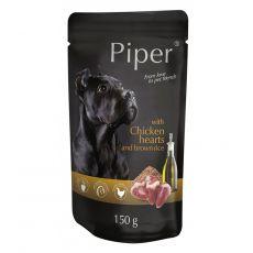 Vrečka Piper Adult piščančja srca in rjavi riž 150 g
