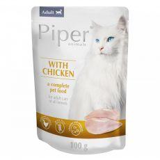 Vrečka Piper Cat Adult piščančje meso 100 g