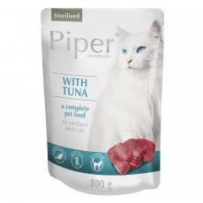 Vrečka Piper Cat Sterilised tuna 100 g