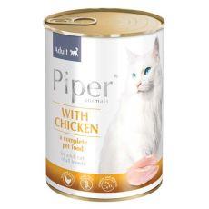 Konzerva Piper Cat Adult piščančje meso 400 g