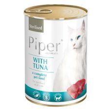 Konzerva Piper Cat Sterilised tuna 400 g