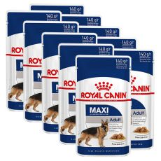 Vrečka Royal Canin Maxi Adult 10 x 140 g