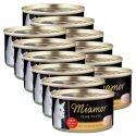 Konzerva mačje hrane Miamor Filet, piščanec in testenine, 12 x 100 g