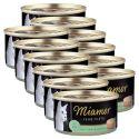 Konzerva mačje hrane Miamor Filet, tuna in zelenjava, 12 x 100 g
