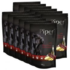 Vrečka Piper Adult goveja jetra in krompir 12 x 500 g