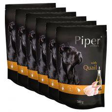 Vrečka Piper Adult prepelica 6 x 500 g