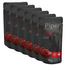 Vrečka Piper Platinum Pure govedina in rjavi riž 6 x 150 g
