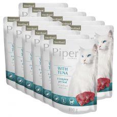 Vrečka Piper Cat Sterilised tuna 12 x 100 g