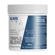 ALAVIS Triple Blend za pse in mačke 200 g