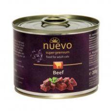 Konzerva NUEVO CAT Adult Beef 200 g