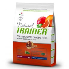 TRAINER Natural Medium Adult dried ham 3 kg